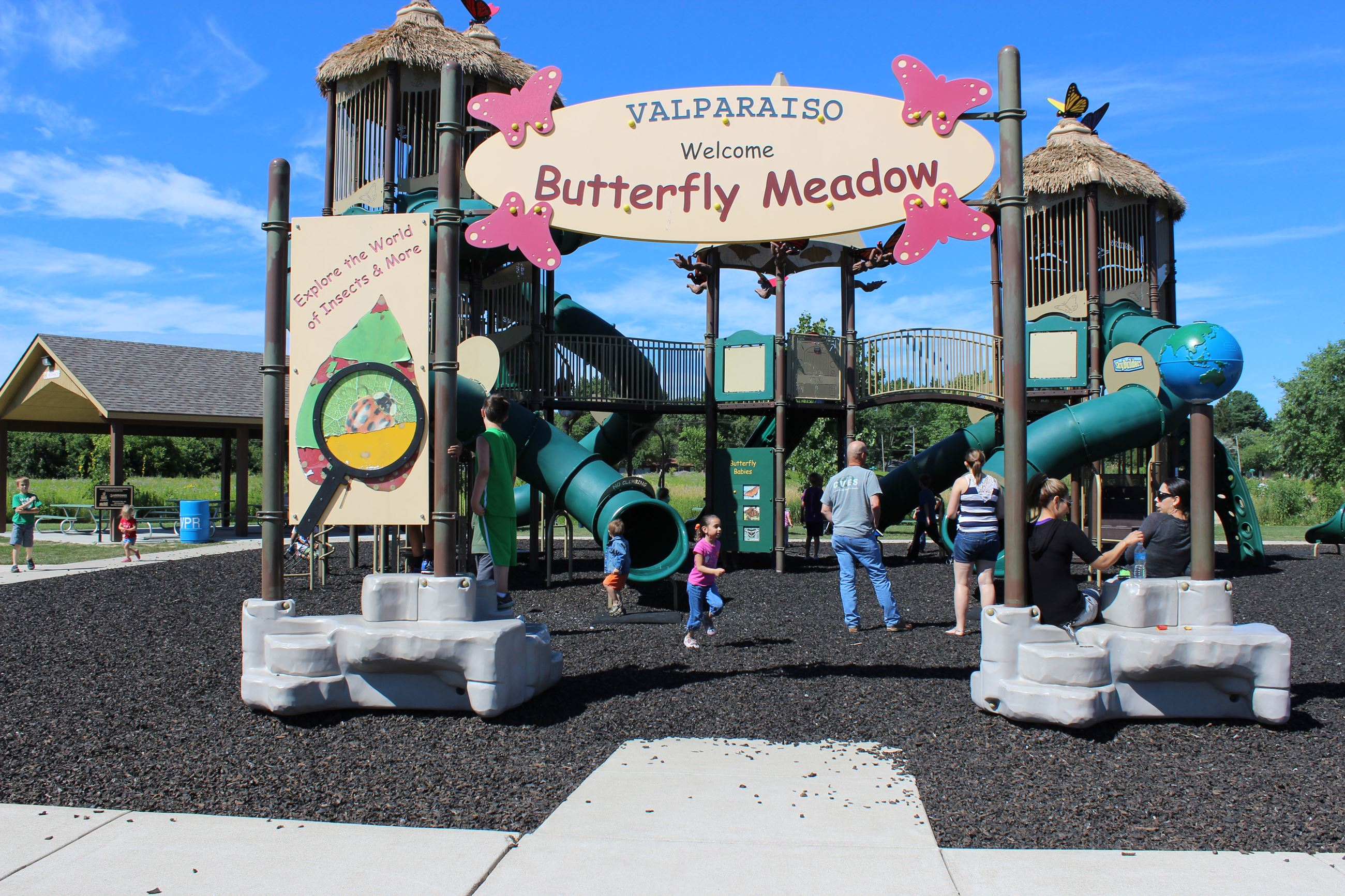 butterfly meadow good pic of playground